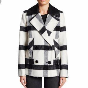 Trina Turk Plaid Coat